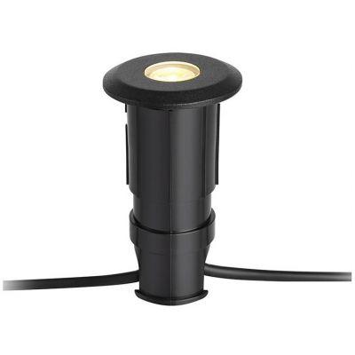 Markslöjd Garden 24 Spot lampa najazdowa zewnętrzna 1x3W czarna 107285
