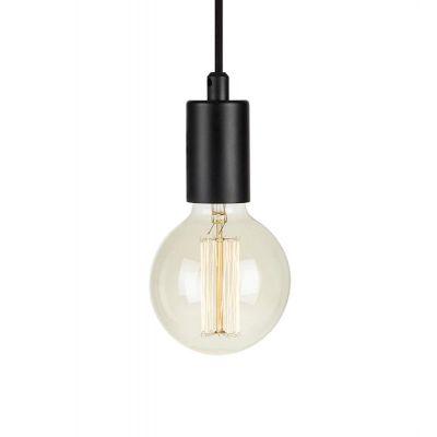 Markslöjd Sky lampa wisząca 1x60W czarna 107366