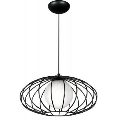 Milagro Kronos lampa wisząca 1x40W czarna MLP4422