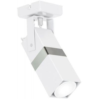 Milagro Vidar lampa podsufitowa 1x8W biała/chrom MLP6281