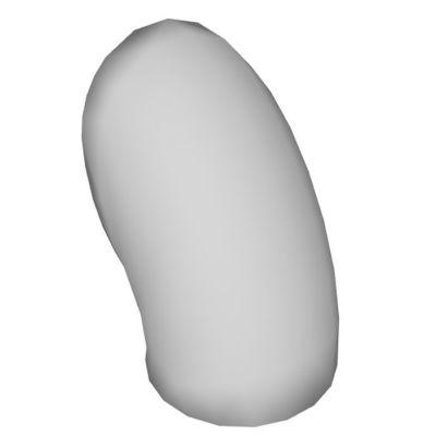 Martinelli Luce Gomito kinkiet 1x10W LED biały 1196/BI