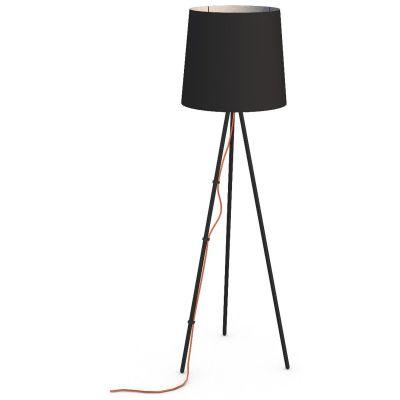 Martinelli Luce Eva lampa stojąca 1x15W czarna 2270/NE/NE