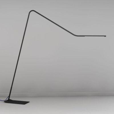 Martinelli Luce Colibri lampa stojąca 1x36W LED czarna 2284/NE