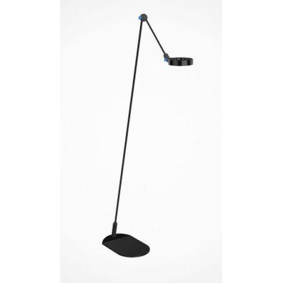 Martinelli Luce L'Amica lampa stojąca 1x9W LED czarna 2303/NE
