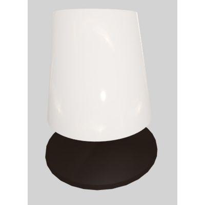 Martinelli Luce Amarcord lampa stołowa 1x8W LED przezroczysta/antracyt 827/DIM/AN
