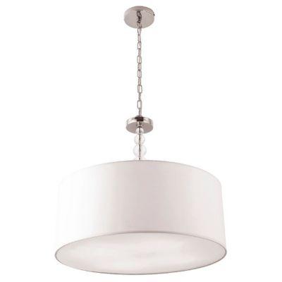MaxLight Elegance lampa wisząca 4x60W biały/chrom P0061