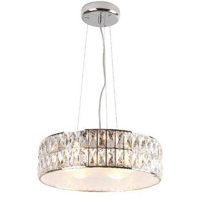 MaxLight Diamante lampa wisząca 5x42W chrom P0236