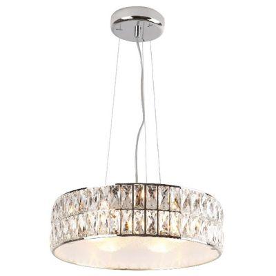 MaxLight Diamante lampa wisząca 6x42W chrom P0238