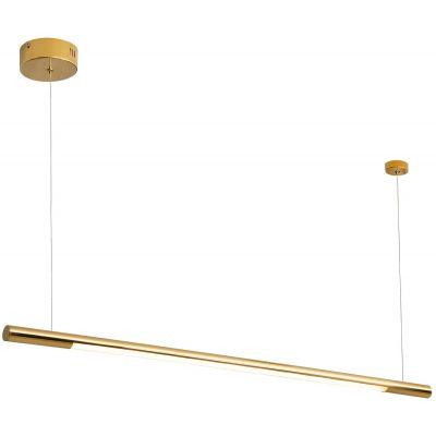 MaxLight Organic lampa wisząca 1x16 W złota P0356