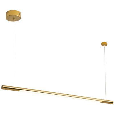 MaxLight Organic Horizon lampa wisząca 1x26W złota P0360