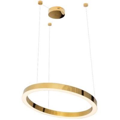 MaxLight Luxury lampa wisząca 1x43W złota P0369