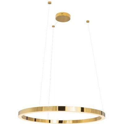 MaxLight Luxury lampa wisząca 1x67W złota P0370