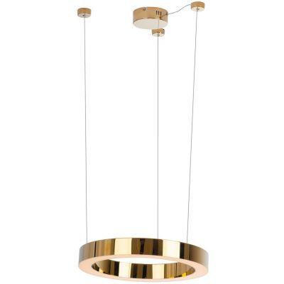 MaxLight Luxury lampa wisząca 1x25W złota P0377