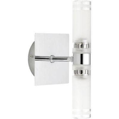 Nowodvorski Lighting Baltic II kinkiet 2x40W chrom/biały 3350