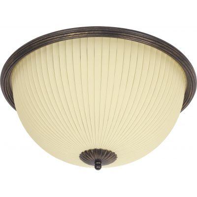 Nowodvorski Lighting Baron II plafon 2x60W beż/ciemny mosiądz 4138