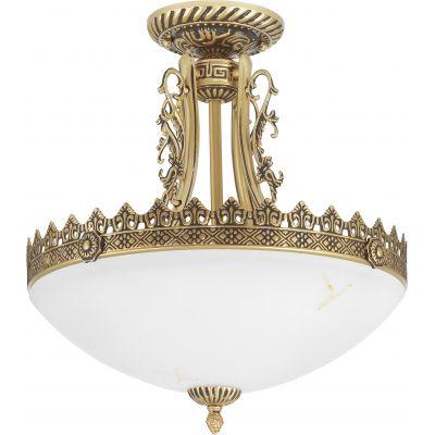 Nowodvorski Lighting Attyka lampa wisząca 3x60W złoty/biały 4397