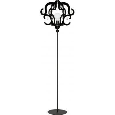 Nowodvorski Lighting Katerina lampa stojąca 1x60W czarna 5212