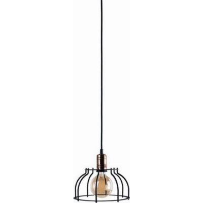 Nowodvorski Lighting Workshop C lampa wisząca 1x60W czarna 6335