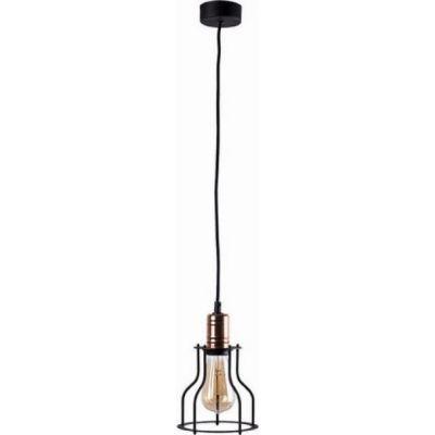 Nowodvorski Lighting Workshop B lampa wisząca 1x60W czarna 6336