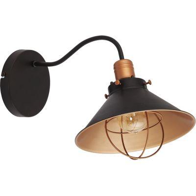 Nowodvorski Lighting Garret I kinkiet 1x60W czarny 6442