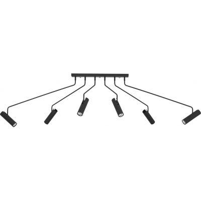 Nowodvorski Lighting Eye Super Black lampa wisząca 6x35W czarna 6505