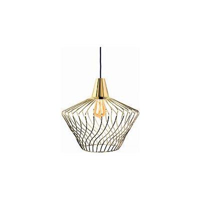 Nowodvorski Lighting Wave S lampa wisząca 1x60W złota 8861