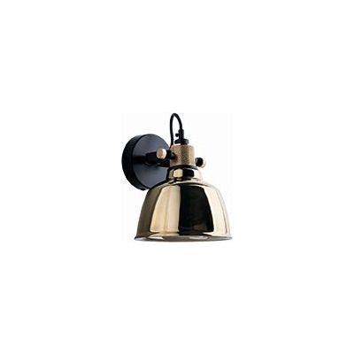 Nowodvorski Lighting Amalfi kinkiet 1x40W złoty/czarny 9155