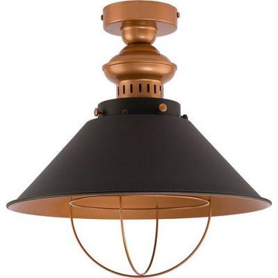Nowodvorski Lighting Garret I lampa wisząca 1x60W miedziany/czarny 9247