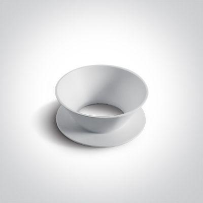 One Light zawieszka cylindryczna do lampy biała 050112/W