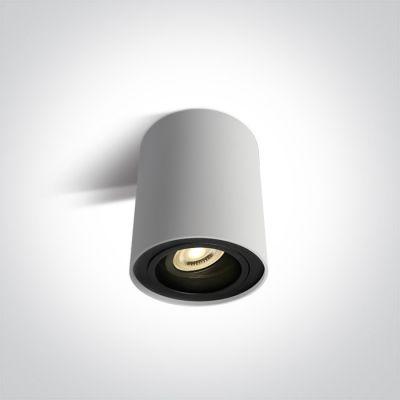 One Light Nemea lampa podsufitowa 1x10W biały/czarny 12105Y/W