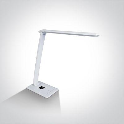 One Light Avaritsa lampa biurkowa 1x15W biała 61068/C