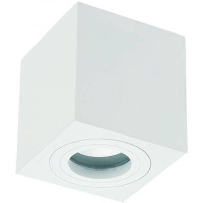 Orlicki Design Lago Bianco IP44 lampa podsufitowa 1x8W biała 5903689782142