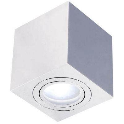 Orlicki Design Lago Cromo IP44 lampa podsufitowa 1x8W chrom 5903689782159