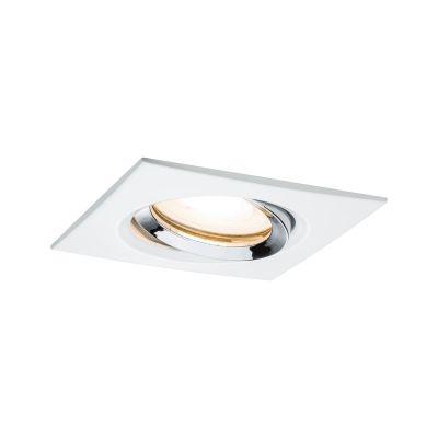 Paulmann Nova Premium lampa do zabudowy 1x35W biały mat/chrom 93664