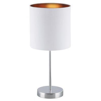 Rabalux Monica lampa biurkowa 1x60W biała 2528