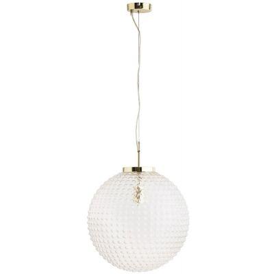 Rabalux Victoria lampa wisząca 1x60W przezroczysta/złota 2562