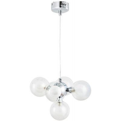 Rabalux Briella lampa wisząca 5x28W biała/chrom 2623