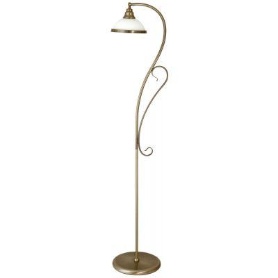 Rabalux Elisett lampa stojąca 1x60W brązowa 2758