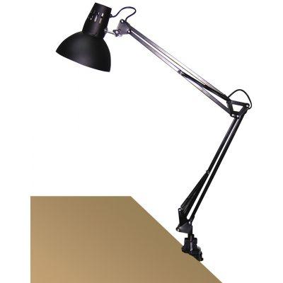 Rabalux Arno lampa biurkowa 1x60W czarna 4215