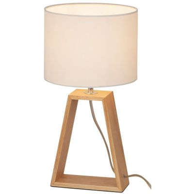Rabalux Freya lampa stołowa 1x40W drewno/naturalny 4378