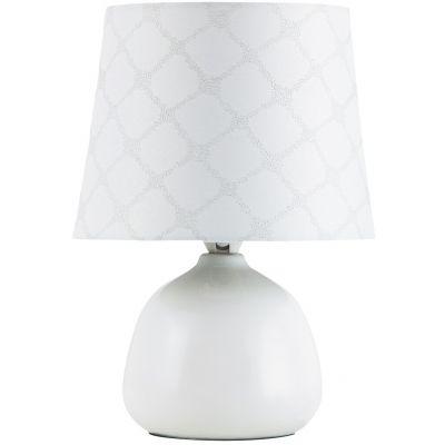 Rabalux Ellie lampa stołowa 1x40W biała 4379