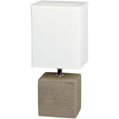 Rabalux Orlando lampa stołowa 1x40W kakaowy/naturalny 4930