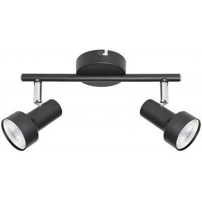 Rabalux Konrad lampa podsufitowa 2x50W czarna 5323