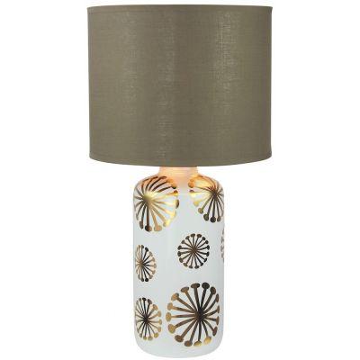 Rabalux Ginger lampa stołowa 1x60W złoty/brązowy 6030