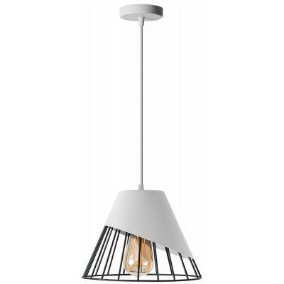 TooLight lampa wisząca 1x60W APP228-1CP biała OSW-00888
