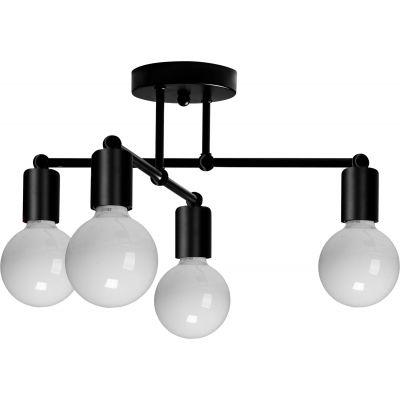 TooLight lampa podsufitowa 4x60W 392200 czarna OSW-07623