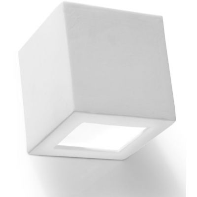 Sollux Lighting Leo kinkiet 1x60W biały SL.0005