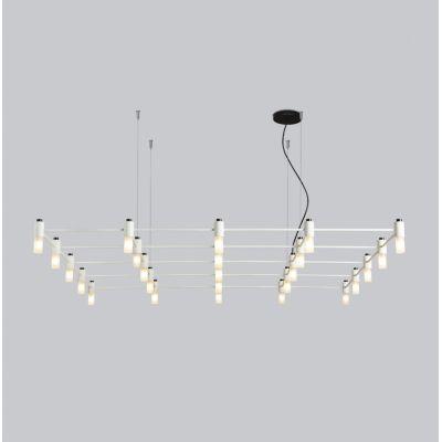 Tooy Quadrante lampa wisząca 25x10W czarny piaskowy 505.25C74