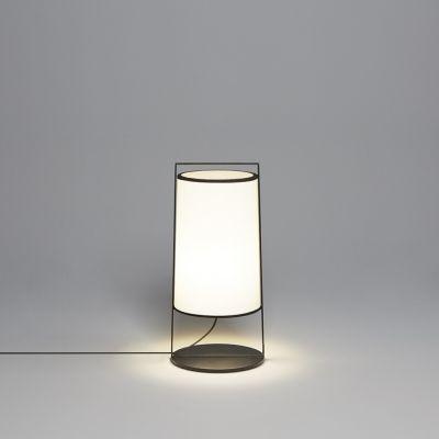 Tooy Macao lampa stołowa 1x10W czarny piaskowy/biały 551.32.C74.W-F