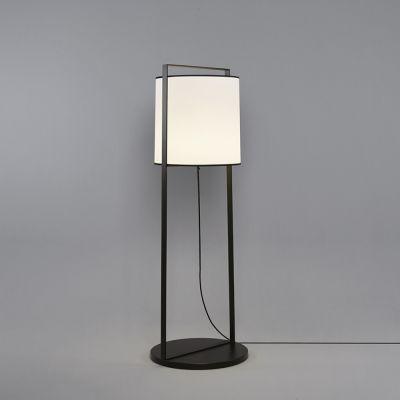 Tooy Macao lampa stojąca 1x20W czarny piaskowy/biały 551.64.C74.W-F